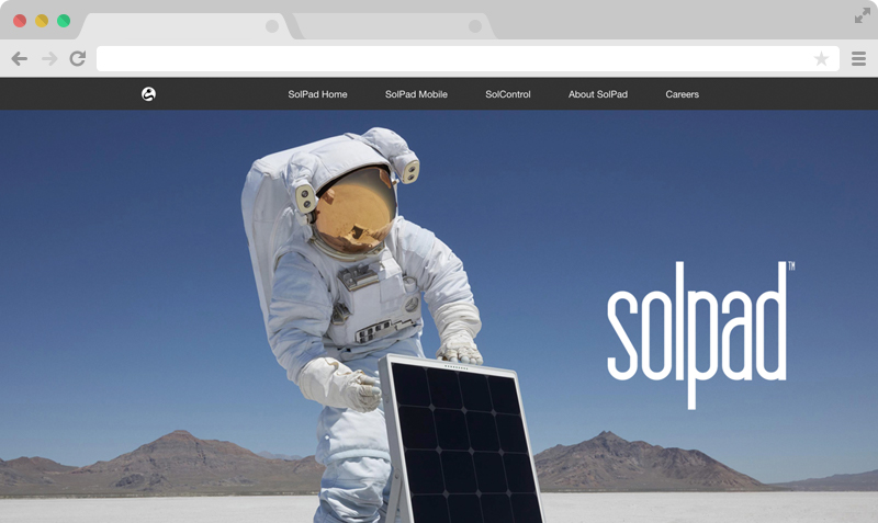 SolPad - Web Development